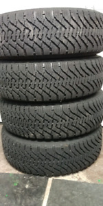 Goodyear Nordic Winter Tires And Rims- 225/65/17