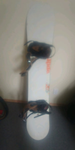 Ride Snowboard w Bindings 159cm