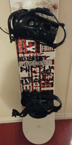 Almost new firefly snowboard