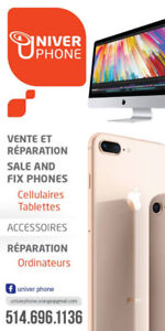 REPAIR IPHONE AND  ALL MODELS, REPARATION DE IPHONE, DÉCODAGE