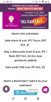 Scentsy flash sale!!! Starts 11am