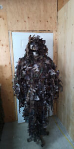 Poncho Ghillie Suit