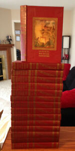 1954 Universal World Reference Encyclopedias - Set of 15