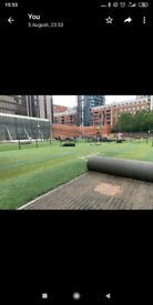 Farming leisure heavy duty turf £30 roll 36m2