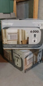 2-6000 BTU Air Conditioners With Remote Control-Mint Condition!