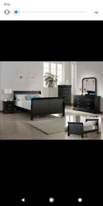 7 pcs Queen Bedroom set
