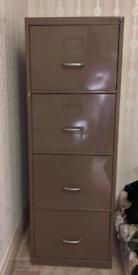 Filing cabinet - metal