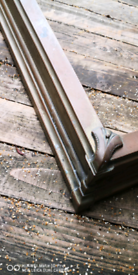 Old copper fire fender