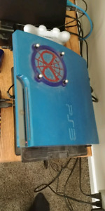 Custom ps3 slim + 3 games