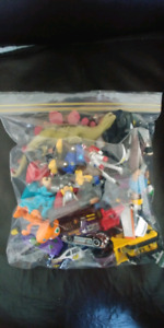 Assorted Dinkies and Mini Action Figures