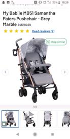 My babiie marvel stroller
