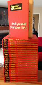 Popular Mechanics Do it Yourself Encyclopedia 1983 Print -23 set
