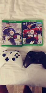 Xbox one controllers and games ps3 games
