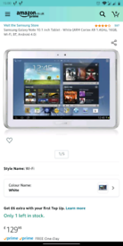 Samsung galaxy note 10.1 tablet FAULTY