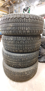 Winter tires 235/70/16 Wintermastr Plus.