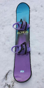Snowboard-great price with fittings- Echos  130 SE H2O!
