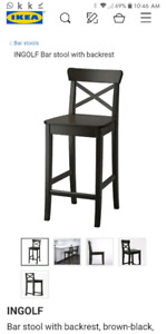 2 Ingolf bar stools