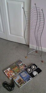 Psp games+Psp case+Psp car charger+cd stand