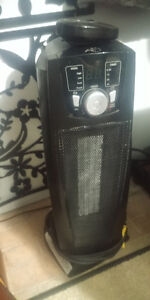 1500w Oscillating Tower Heater with Remote, Works Great!