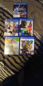 Various playstation games for sale$$