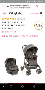 Saftey 1st Lux Stealth Travel System