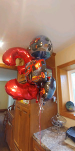 Blaze and the monster machine balloons