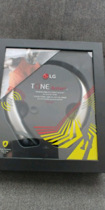 New in box LG Tone Active + premium wireless headset