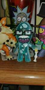 Rick and Morty Mystery Mini's Dr. Xenon Bloom. 1/72 rarity.