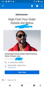 Snoop Dogg and friends w/bone thugs n harmony