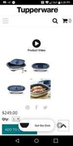 MicroPro Grill by Tupperware