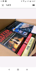Box of 25 hardback books