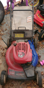 Parting out lawnmower