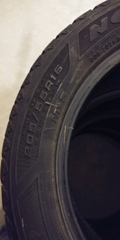 Goodyear Nordic Winter Tire >> Goodyear Nordic Winter Tires A Set For Sale