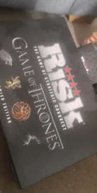 Risk, game of thrones board game
