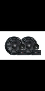 "Car audio 6.5"" component speakers New! MB Quart.Subwoofers,amps"