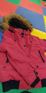 Girls large point zero winter jacket