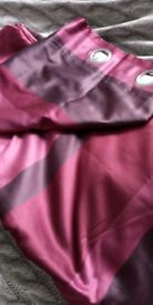 "Dunelm purple shades curtains 72"" x 66* wide"