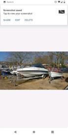 Speed boat v6 bayliner 21ft cuddy