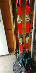 Ski's,polls and boots