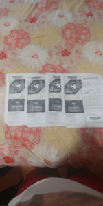 4 Blue Jays Tickets for Tuesday August 21st.