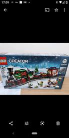Lego Creator 10254 Winter Holiday Train- Brand New - Factory Sealed