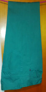 Men's green slim jeans size 30