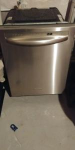 Lave vaisselle kitchenaid stainless