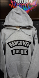 Hangover Hoodie. NEW. Size large