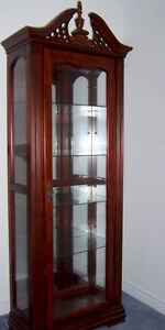 Antique Glass Display Cabinet