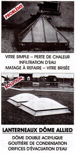 Winter Special SKYLIGHTS to clear, large quantity in stock. West Island Greater Montréal image 10
