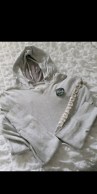 Ladies Grey Abercrombie and Fitch hoodie in excellent condition. Appro