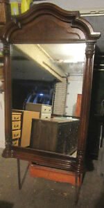 Solid oak Sklar Peppler mirror 4 sale