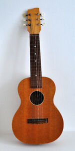 GUITAR ACOUSTIC BRUKO OCTAVE RARE VINTAGE 6 STRING SUITS CHILD