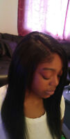 Sew in Weaves, Tapered Crochet Styles & Lace Installs